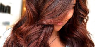 dark brownish reddish hair color