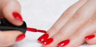 how to get nail polish out of clothes